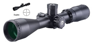 BSA 17312X40 Sweet 17 Rifle Scope, 30/30 Reticle, 3-12x 40mm Objective, Water/Fog/Shock Proof, Black Finish