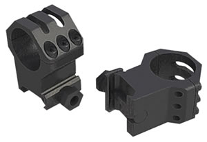 Weaver 99694 Tactical Tactical 30mm High Matte Black