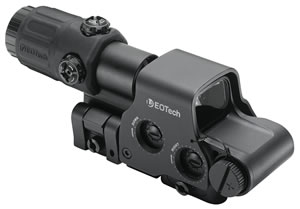 Eotech HHSI EXPS3-4 & G3-3 1x Unlimited Eye Relief w/STS Mount 1 MOA Black , w/$50 Coupon For Future Order