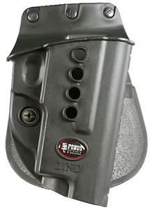 Fobus SGE2RP, Roto Belt Sig Sauer 220/226 Paddle Handgun Holster, Black Plastic Smooth