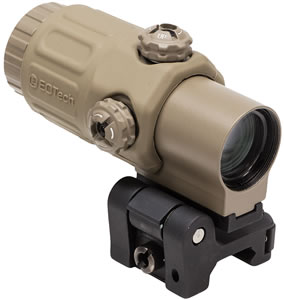 EOTech G33STSTAN G33 Red Dot Scope, Gen III Magnifier, STS Switch To Side, 3.25x Objective, Water/Fog Proof, Tan Finish
