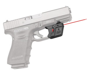 Crimson Trace DS121 Defender Red Laser w/AccuGuard, For Glock