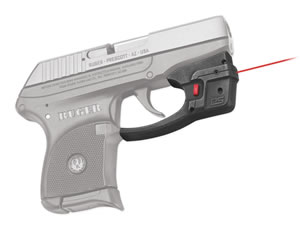 Crimson Trace DS122 Defender Red Laser w/AccuGuard, Ruger LCP