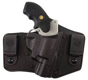 Desantis 105KAX7ZO, 9mm/.40 Caliber Slide Concealment Holster, Black Leather Matte