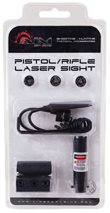 Aim Sports LH002 Pistol/Rifle Universal Rail Mounted Red Laser Sight