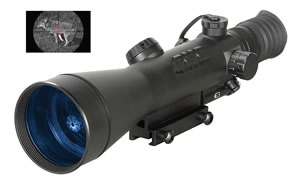 ATN NVWSNAR6W0 Night Arrow Night Vision Scope WPT Gen 6X Weapon Sight,  5 Degrees  FOV