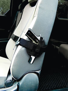 PS Products 035SH, Car Seat Handgun Concealment Holster, Medium/Large Hanguns