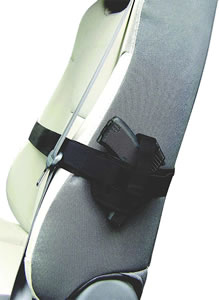 PS Products 036SH Car Seat Handgun Concealment Holster, Small