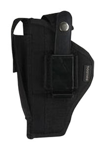 "Bulldog Cases FSN19SC , 19-2 Mini Semi-Auto 2"" Barrel Ambidextrous Holster, Black Denier Nylon"