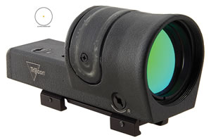 Trijicon RX3411 Reflex 1x 42mm Obj Eye Relief 4.5 MOA Dot Black , w/$10 Coupon For Future Order