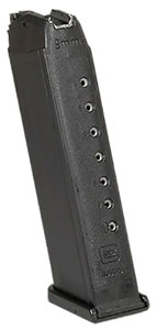 Glock MF17033 33 Round Blue Magazine For Model 17 9MM  in Blister Pkg