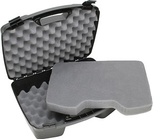 MTM Black Four Pistol Handgun Case 81140