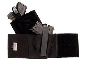 Galco CAB2L Cop Ankle Band Holster For Glock 26,27,33/SW 3913,4013,469,669,6904,6906