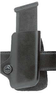 Safariland Double Magazine Pouch w/Plain Finish, Model 79836, For Ber 8045F; Casp 38 Super; For Glock 17, 19, 22, 23, 26, 27, 34, 35; HK USP 9C/40C; Sig 229/SP 2340