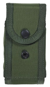 Bianchi Military Mag Pouch, Olive Drab, Model 14931, For Colt Gov; Llama IXA; Ruger P91; Sig P220, 225; STAR AS; S&W 1066, 1076, 1086, 3913, 3914, 4516, 4566