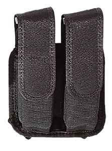 Bianchi Tuxedo Dbl Mag Pouch w/Velcro, Model 17039, For BRN Hi P; HK P7-M13, USP Com .40; Ruger P85, 89, 91SW 4006, 5904/5906, 5944/5946, Sig P228, 229