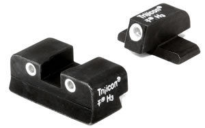 Trijicon Tritium SG03 3-Dot Green Front/Rear Night Sight For Sigarms P220/229