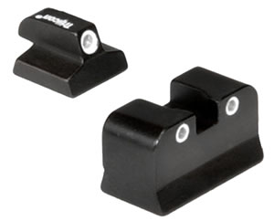 Trijicon Tritium DE03 3 Dot Sight Set For Magnum Research Baby Eagle/Jericho