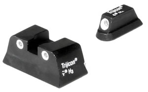 Trijicon Tritium CZ02 3 Dot Sight Set For CZ75