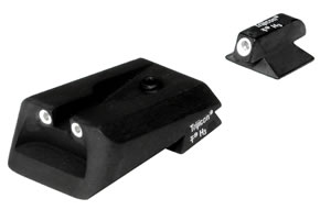 Trijicon Tritium KB01 3 Dot Sight Set For Kimber