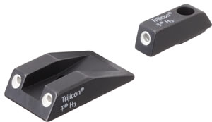 Trijicon Tritium TS01 3 Dot Green Front/Rear Sight Set For Taurus PT111/132/138/140 & 14