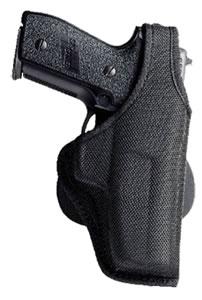 Bianchi AccuMold Holster w/Adj Paddle & Closed Muzzle, Model 18816, For S&W 4566