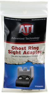 Advanced Technology TFS0650 Ghost Ring Sight Adapter For Top Fold Stock
