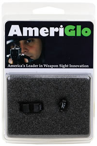 Ameriglo GL119 Green Front/Rear Classic Night Sight For Glock 45/10MM Caliber