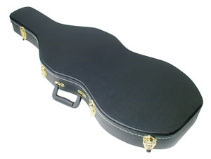 Thompson T30 Violin Gun Case w/Black Textured Finish, Gold Hardware
