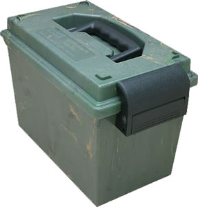 MTM SDB011 Small Green Sportsmans Dry Box