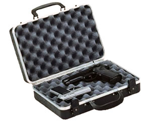 Doskosport/Plano Black Two Pistol Case w/Two Key Locks 10402
