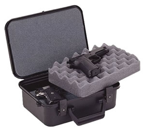 Doskosport/Plano Black Two Pistol/Accessory Case 10088