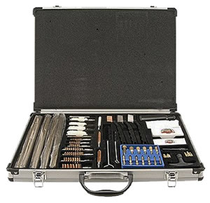 DAC UGC100S  61 Piece Deluxe Gun Cleaning Kit w/Aluminum Case