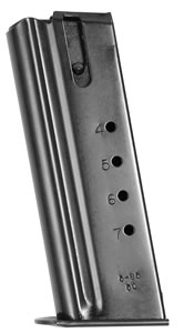 Magnum Research MAG50 7 Round Black Magazine For Desert Eagle 50AE