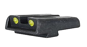 TruGlo Low Yellow Fiber Optic Sight For Glock, TG131GT1Y