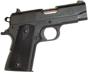 Pearce Side Panel Grips For Colt Officer, PGOM2