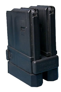 Thermold 2AR20MLCB (2)20 Round 5.56mm/.223 Black Mags w/Twin Magazine Lock