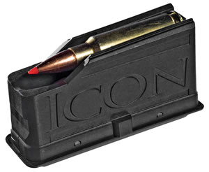 Thompson Center 9821 3 Round Long Action Magnum Magazine For Icon