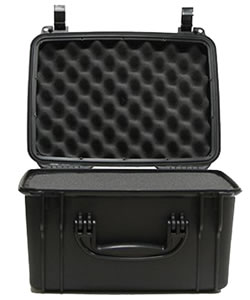 Seahorse SE540F Black Waterproof Handgun Hard Case, 15x12x9