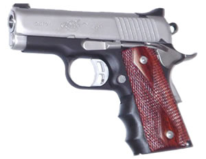 Pearce PGOM1 Officer Model Finger Groove Inserts For 1911 Style Autos