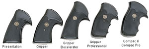 Pachmayr 03249 Gripper Grips For Smith & Wesson J Frame Round Butt