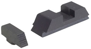 Ameriglo GT504 Defoor Tactical Night Sights For Glock 9/40