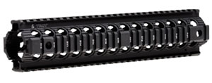 Troy MRFD2BT00 BattleRail Drop-in, 12 in, Blk