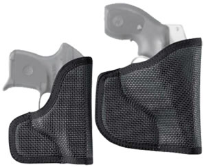 "Desantis N38 The Nemesis Pocket Holster Ambidextrous Black 2.75"" S&W Bodyguard .380 Nylon N38BJU7Z0"