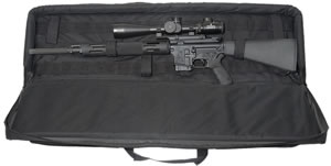 "Max 28124 Tactical Rifle Case 40"" 600 Denier Woven Fabric Black"