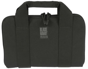 Blackhawk 61GR01BK Pistol Rug Black Soft 12 in x 8 in