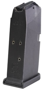 Glock MF39006 Magazine 45GAP 6Rd Black For 39