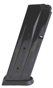 CZ 11186 CZ-P07 Duty 9mm 16 rd Magazine, Black Finish