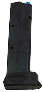 Walther 2796660 PPQ M2 40 Smith & Wesson 10 rd Magazine, Black Finish