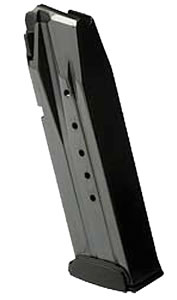 Walther 2791714 Mag PPX M1 9mm 16 rd Magazine, Black Finish